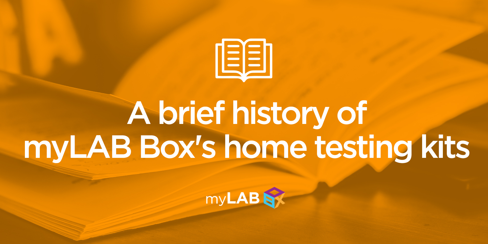A brief history of myLAB Box's home testing kits