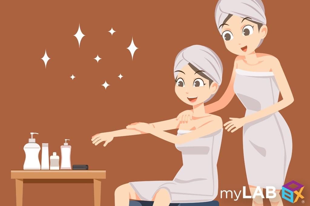 STDs that cause dry skin